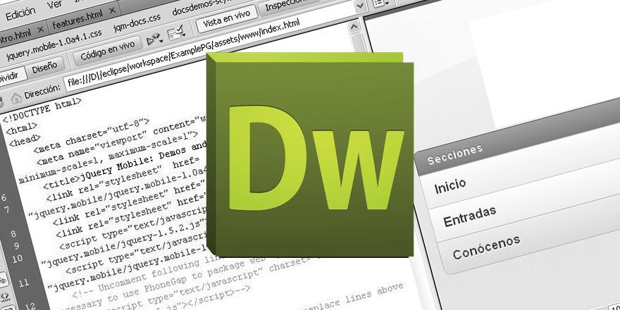 6 razones por las que no debes usar Dreamweaver