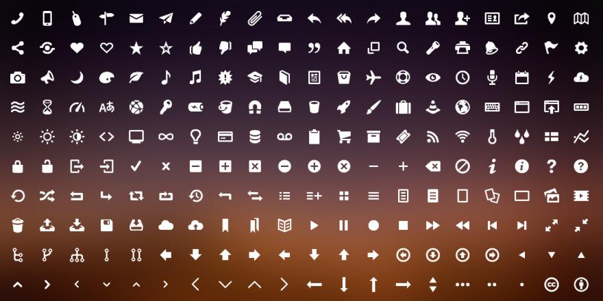 Como agregar iconos personalizados a nuestros sitios web