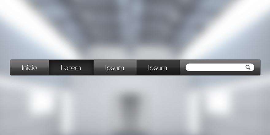 Como hacer el menu horizontal de apple