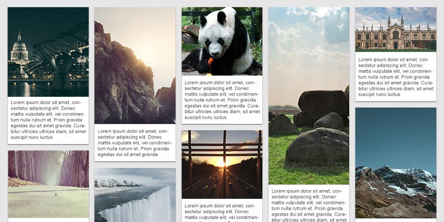 Como hacer el panel de imágenes de pinterest con HTML, CSS y Javascript