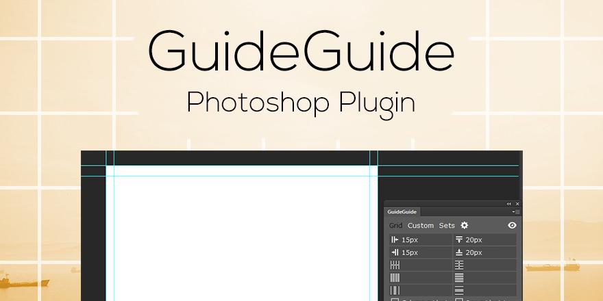 Crea Guías en Photoshop fácilmente con GuideGuide