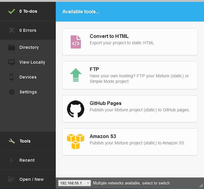 Mixture, la herramienta que todo diseñador web debe tener