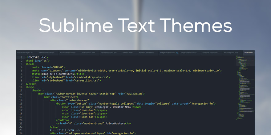 Como instalar Themes y Color Schemes en Sublime Text 2 y 3