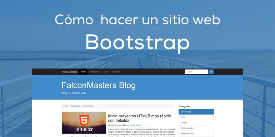 Curso cómo hacer un Sitio Web básico con Bootstrap